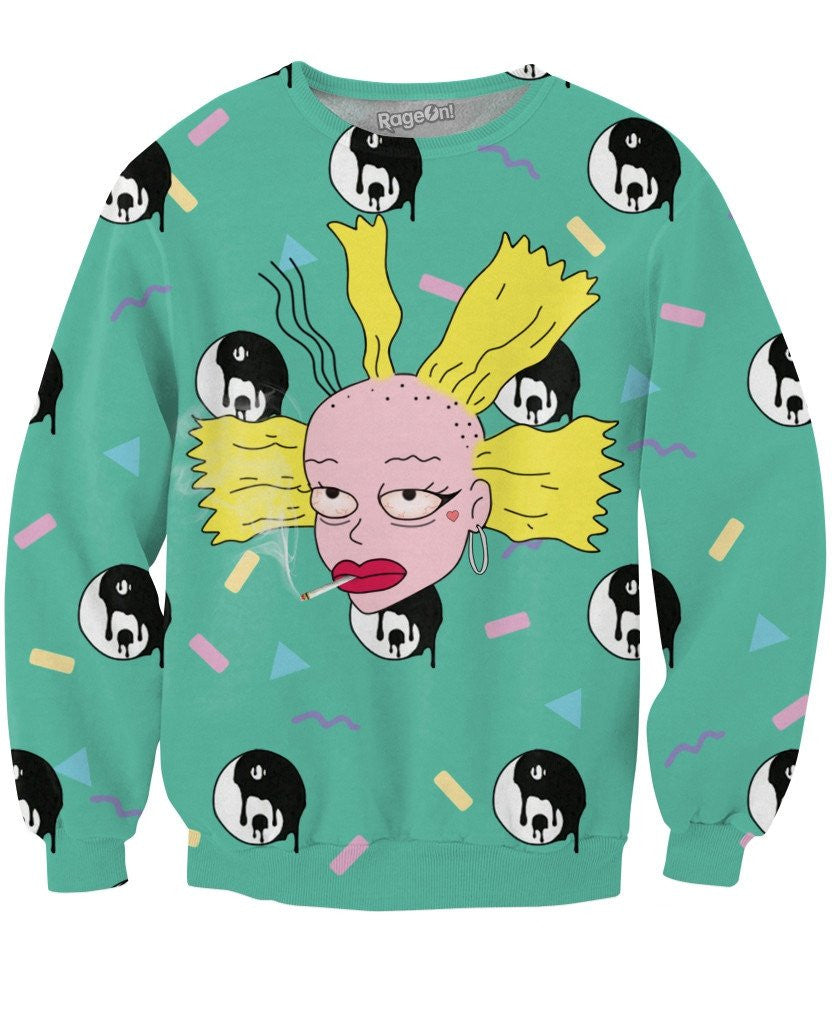 Bad Bitch Cynthia V2 Crewneck Sweatshirt - TShirtsRUS.co