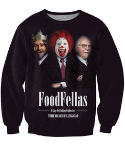 Food Fellas Crewneck Sweatshirt - TShirtsRUS.co