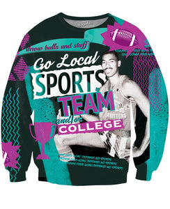 Go Local Sports! V2 Sweatshirt - TShirtsRUS.co