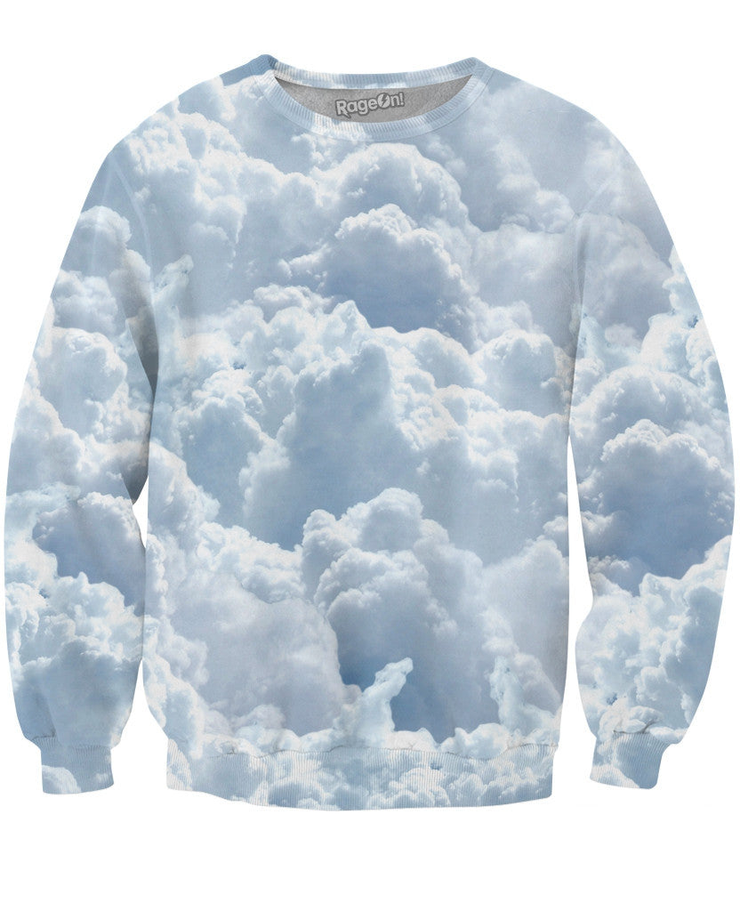 Clouds Crewneck Sweatshirt - TShirtsRUS.co