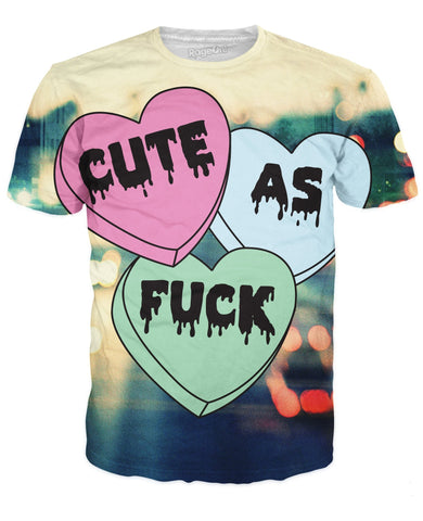Cute as Fuck T-Shirt - TShirtsRUS.co