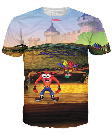 Crash Bandicoot T-Shirt - TShirtsRUS.co