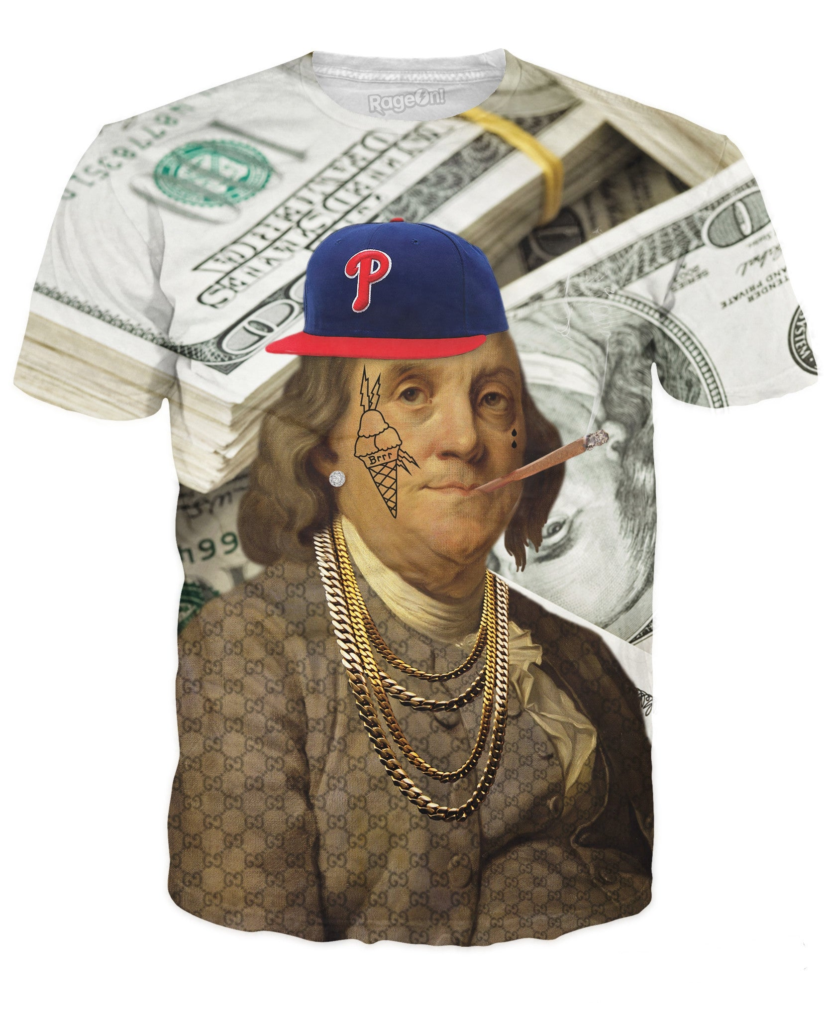All About the Benjamins T-Shirt - TShirtsRUS.co