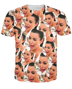 Crying Kim T-Shirt - TShirtsRUS.co