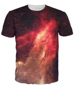 Crimson Nebula T-Shirt - TShirtsRUS.co