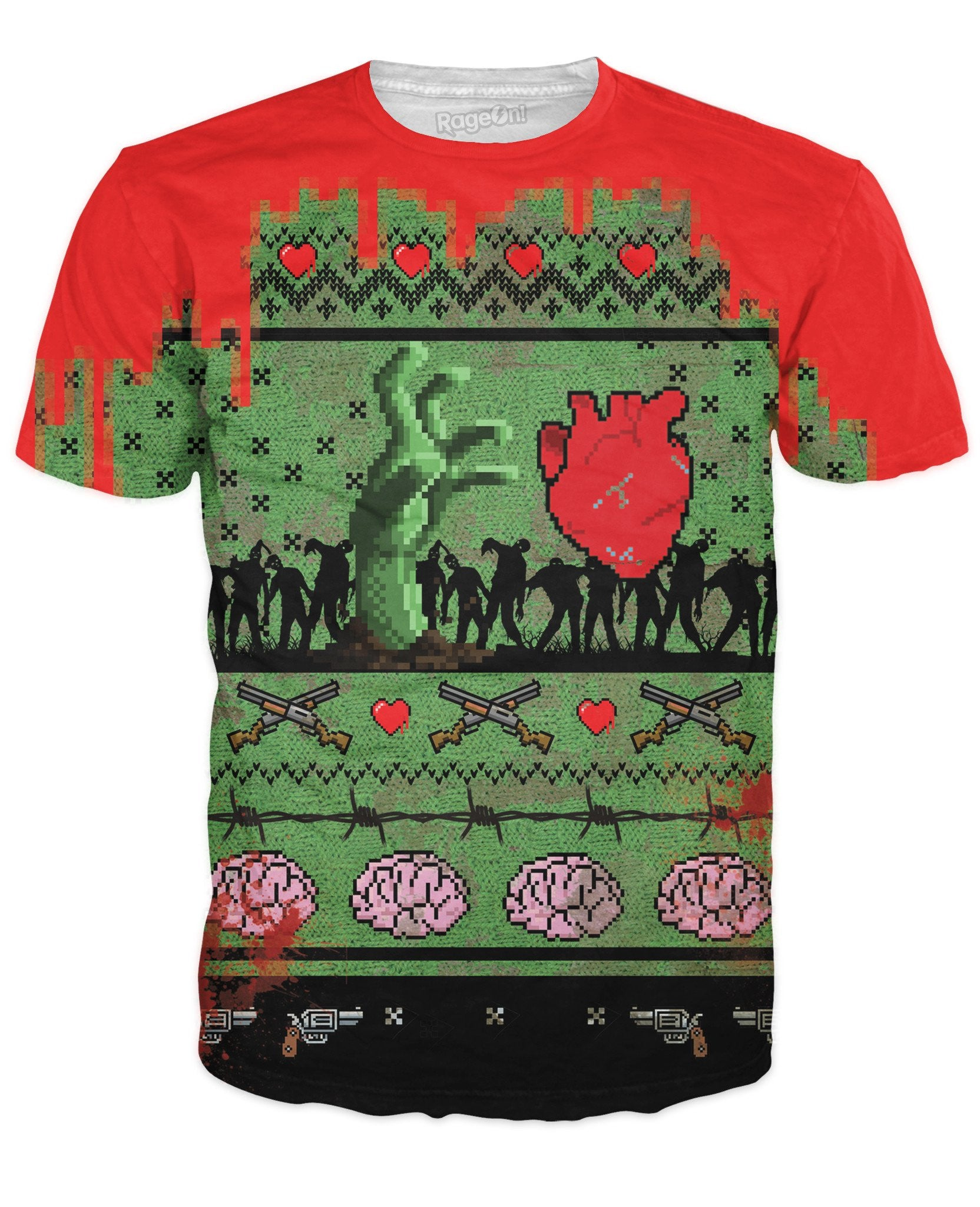 Dead Christmas T-Shirt - TShirtsRUS.co