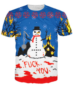Frosty the Angry Snowman T-Shirt - TShirtsRUS.co