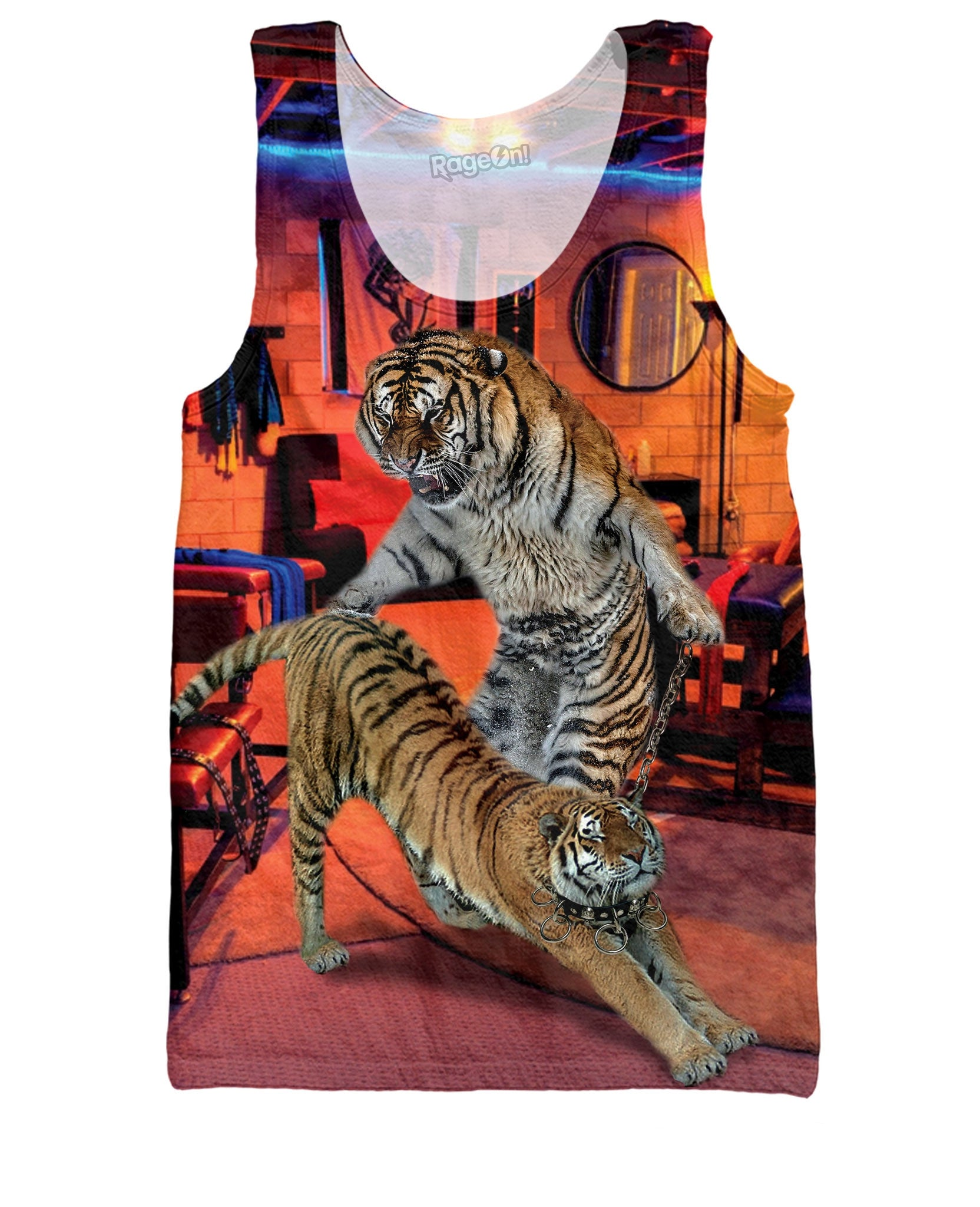 Bondage Tigers Tank Top - TShirtsRUS.co