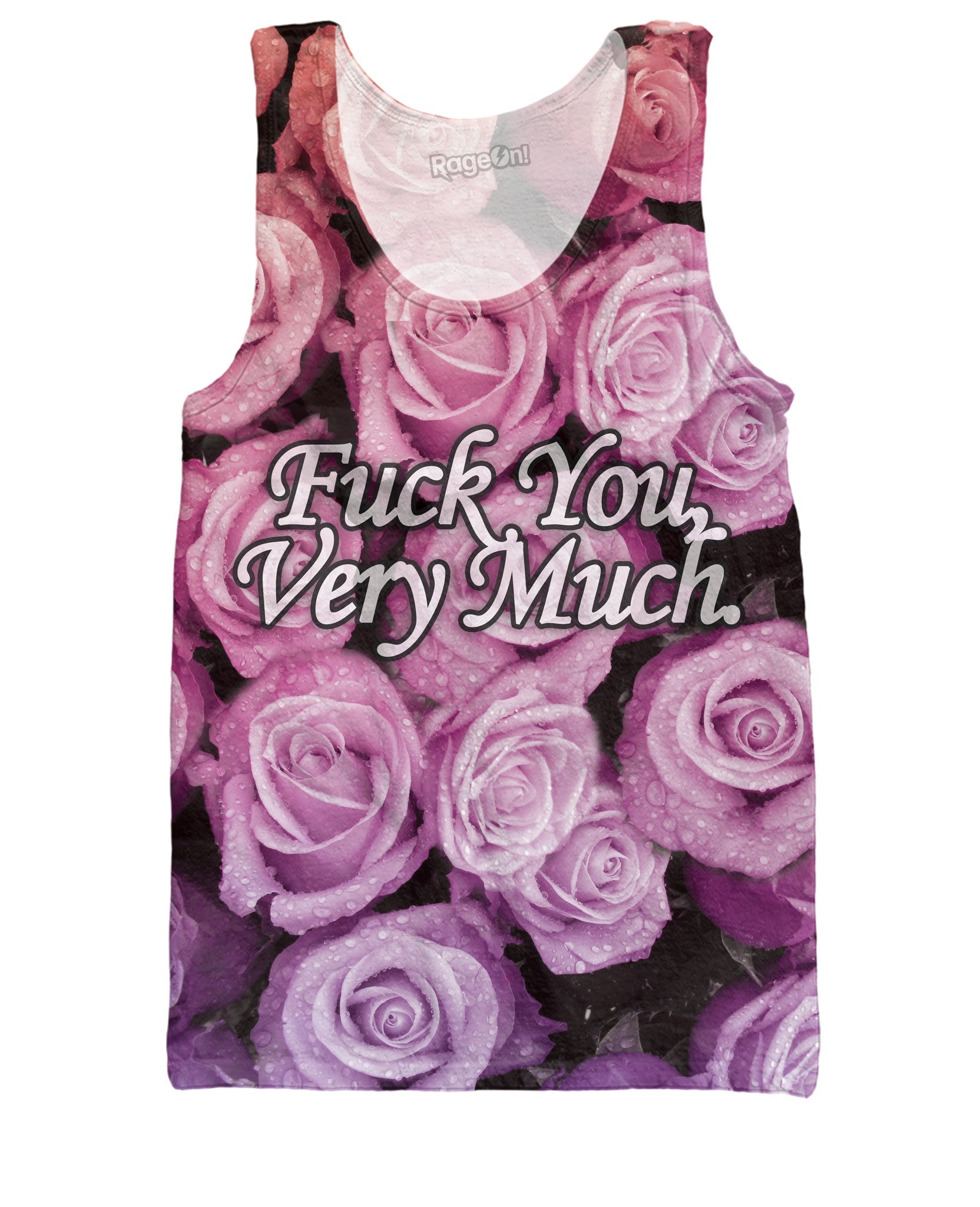 Fuck You Very Much Tank Top - TShirtsRUS.co