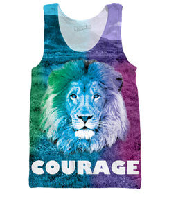 Courage Tank Top - TShirtsRUS.co