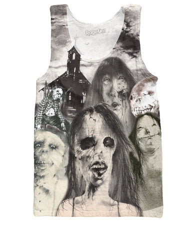 Scary Stories to Tell in the Dark Tank Top - TShirtsRUS.co