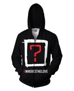 Black Eyed Peas Where's the Love v2 Double Sided Hoodie - TShirtsRUS.co