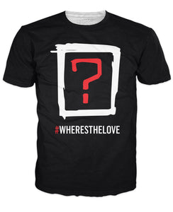 Black Eyed Peas Where's the Love Double Sided T-Shirt - TShirtsRUS.co