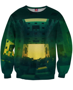 Block Effect Sweatshirt - TShirtsRUS.co