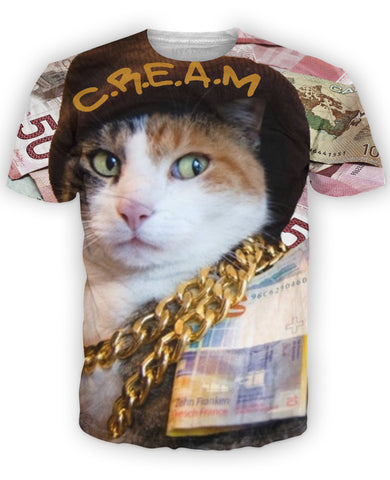 CREAM T-Shirt - TShirtsRUS.co