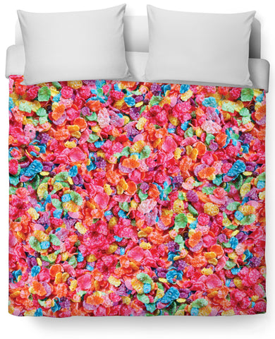 Fruity Pebbles Duvet Cover - TShirtsRUS.co