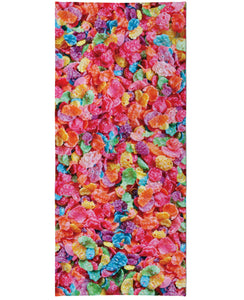 Fruity Pebbles Beach Towel - TShirtsRUS.co