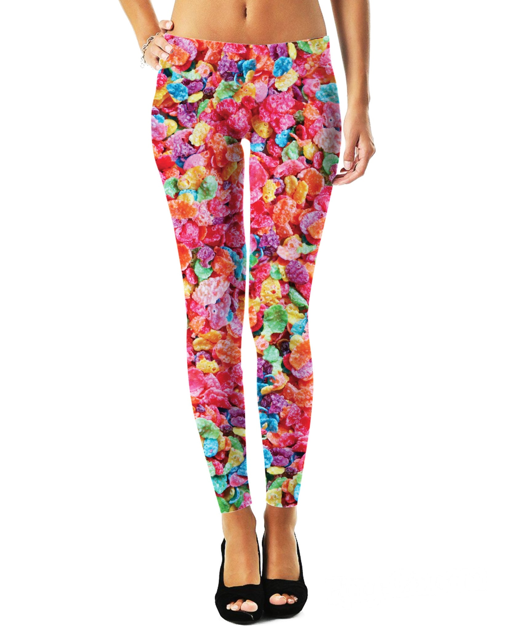 Fruity Pebble Leggings - TShirtsRUS.co