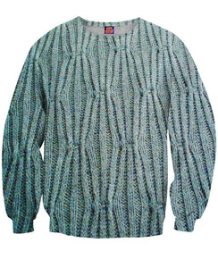 Cable Knit Sweatshirt - TShirtsRUS.co