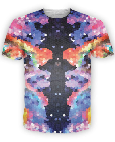 Crystal Symmetry T-Shirt - TShirtsRUS.co