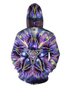 Cerebral Mokasha Double Sided Hoodie - TShirtsRUS.co