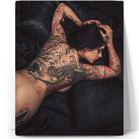 The Girl With The Dragon Tattoo Canvas