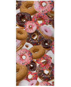 Donuts Beach Towel - TShirtsRUS.co
