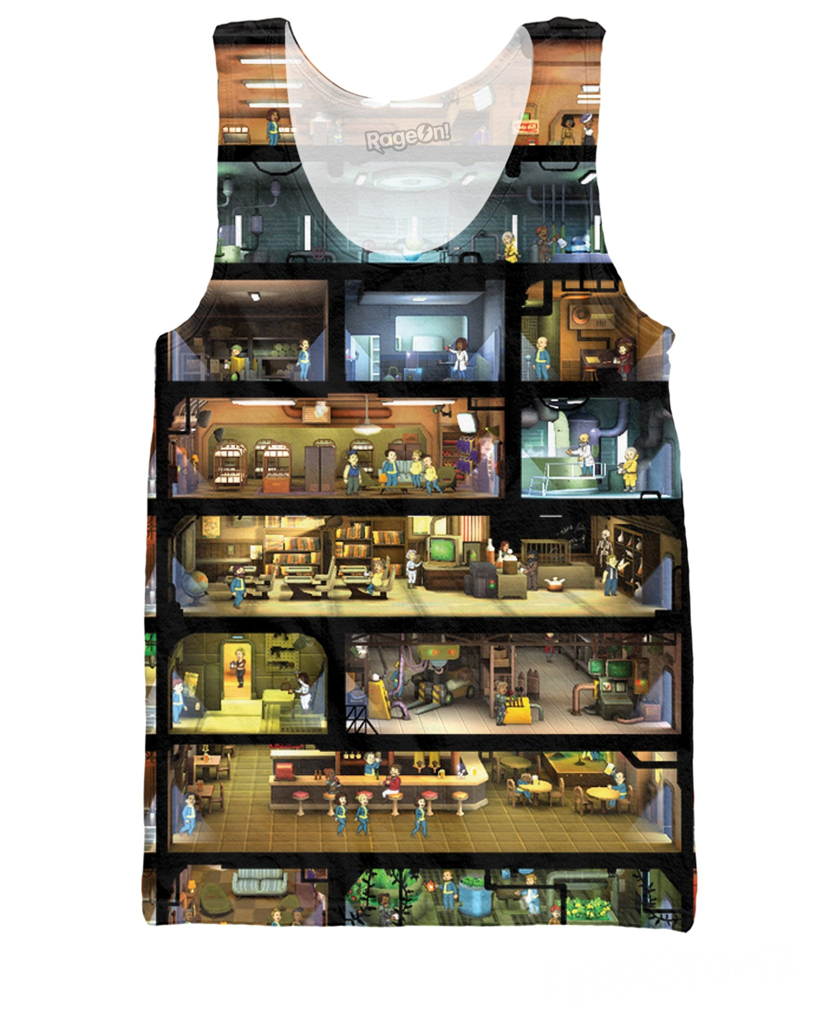 Fallout Shelter Tank Top - TShirtsRUS.co