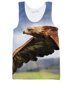 Fly Eagle Fly Tank Top - TShirtsRUS.co