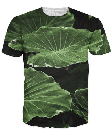 Dark Leaves T-Shirt - TShirtsRUS.co