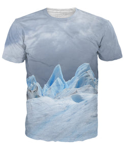 Glacier Tips T-Shirt - TShirtsRUS.co