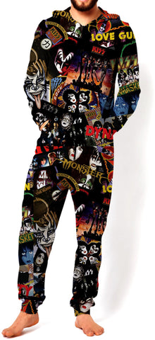 KISS Discography Onesie