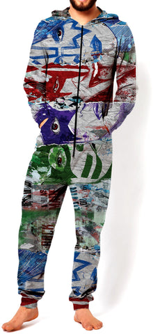 KISS Graffiti Onesie