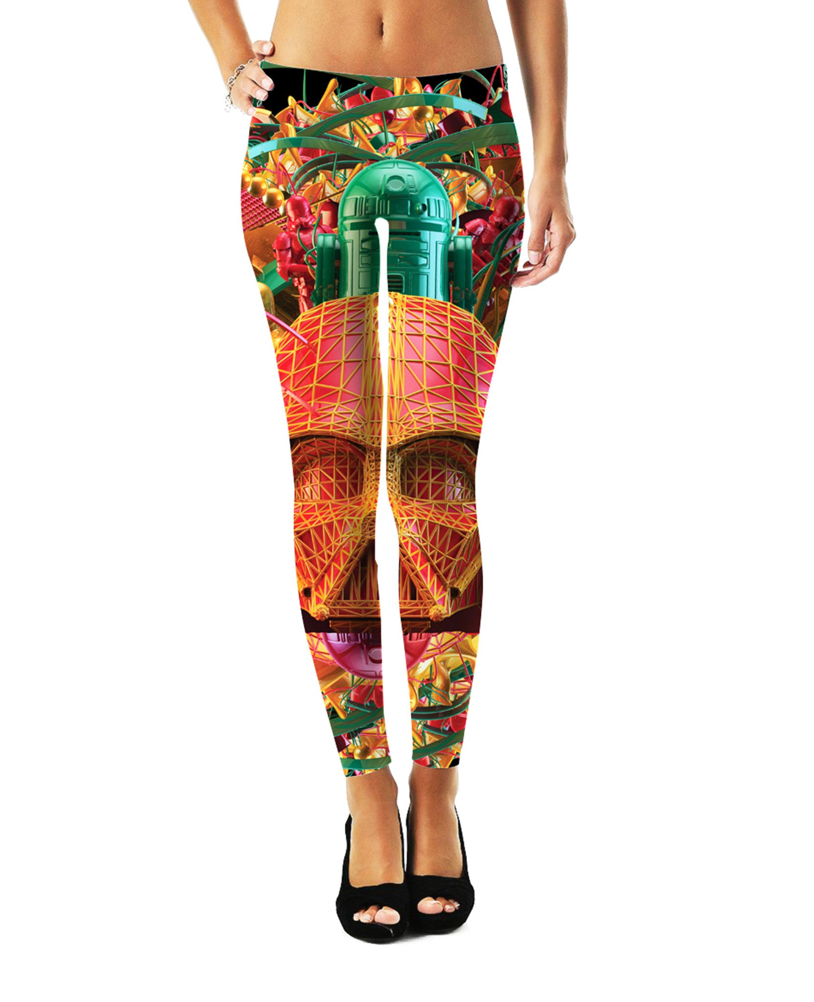 Digital Empire Leggings - TShirtsRUS.co
