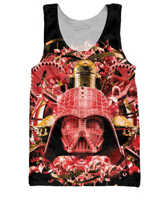 Digital Empire Limited Edition Red Tank Top - TShirtsRUS.co