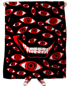 Control Art Restriction 666Fleece Blanket