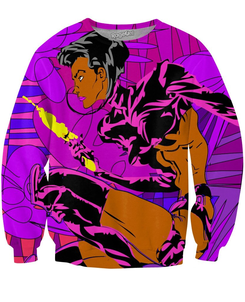 Aeon Flux Crewneck Sweatshirt - TShirtsRUS.co