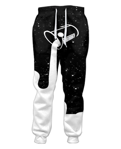 Space Paint Sweatpants - TShirtsRUS.co