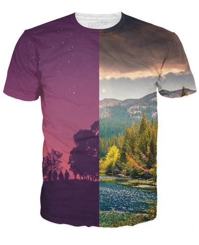 Day and Night T-Shirt - TShirtsRUS.co