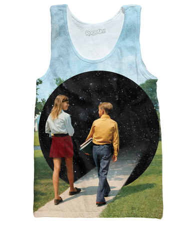 Into the Black Hole Tank Top - TShirtsRUS.co