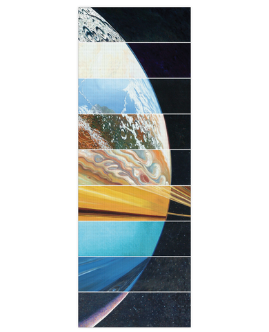 Planets Aligned Yoga Mat - TShirtsRUS.co
