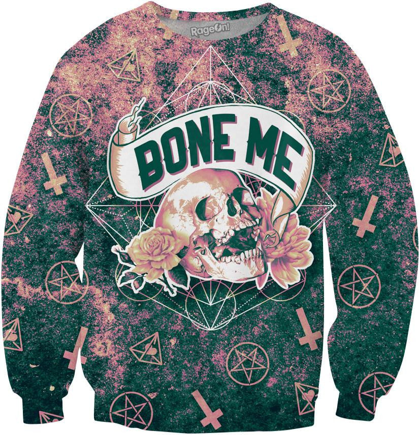 Bone Me Crewneck Sweatshirt - TShirtsRUS.co