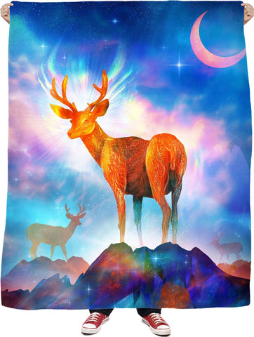 No Looking Back Fleece Blanket