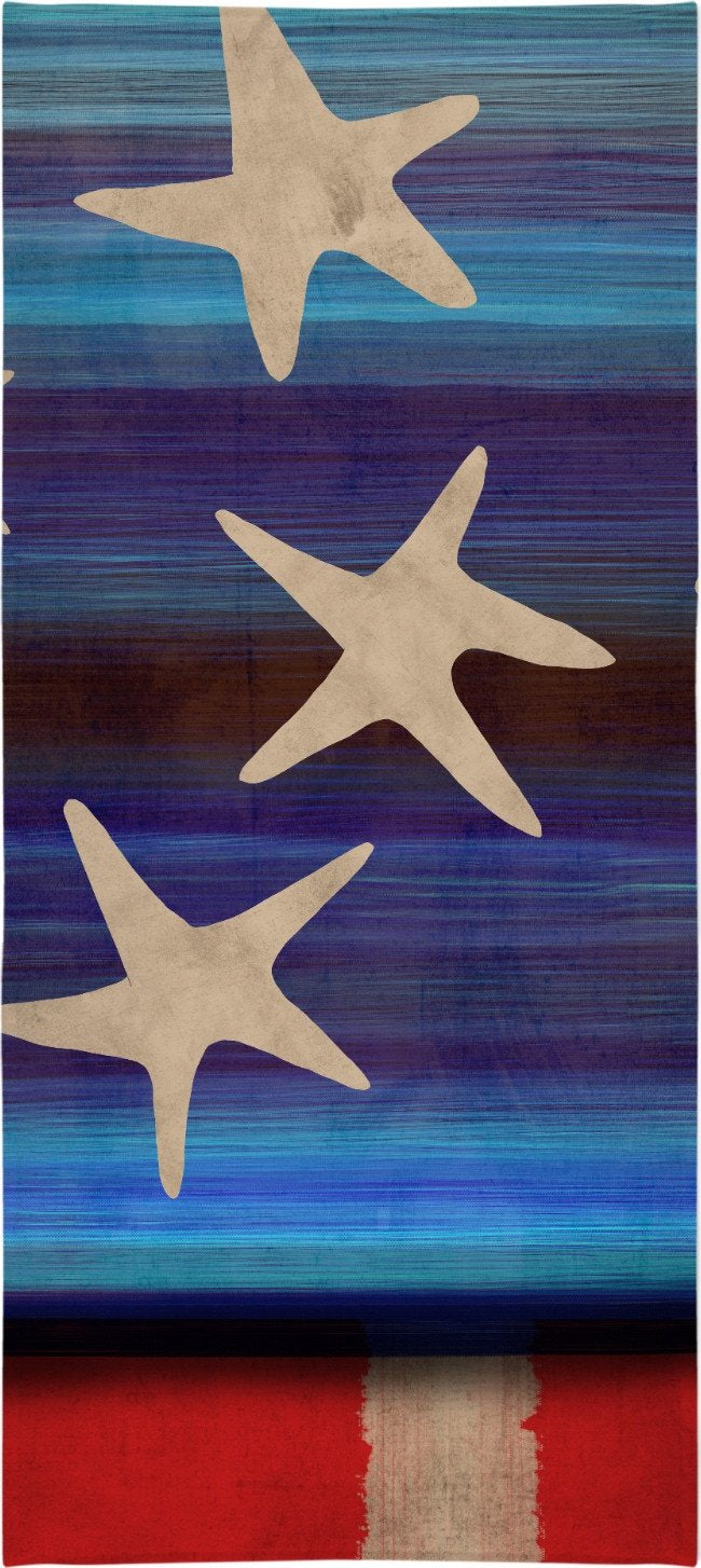 Ruth Fitta Schulz  -  Grungy Stars and Bold Stripes