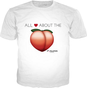 ALL ABOUT THE PEACH - TShirtsRUS.co