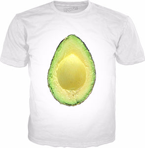 Avocado Half v2 Classic T-Shirt - TShirtsRUS.co