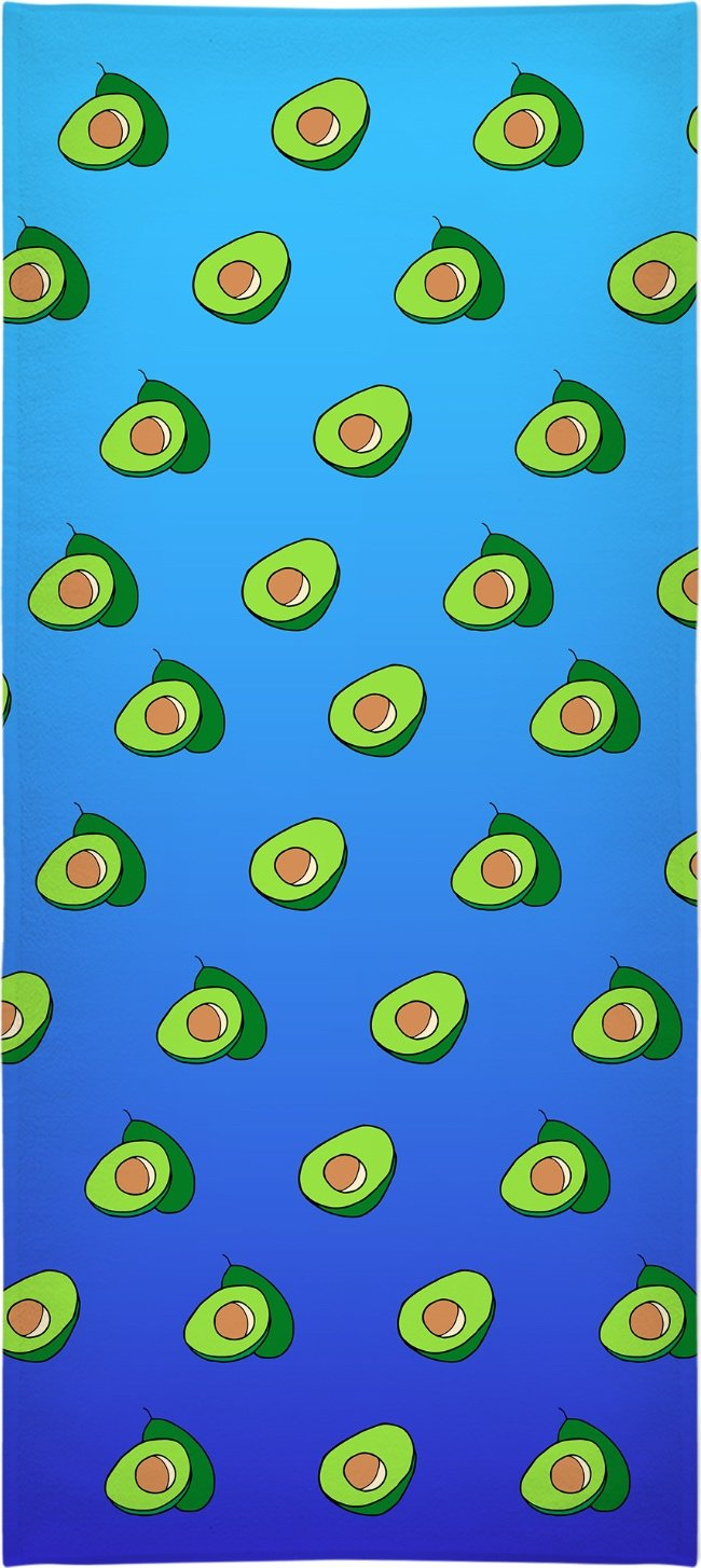 Avocado Beach Towel