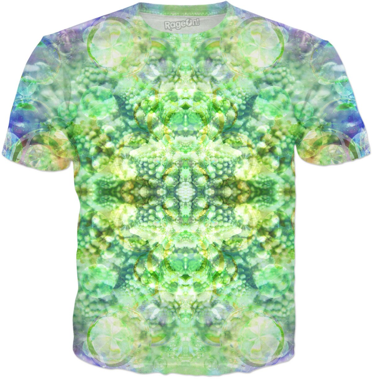 Fractal Bubble Diamonds God 7 T-Shirt - TShirtsRUS.co