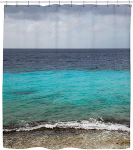 Caribbean Reef Shower Curtain - TShirtsRUS.co