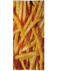French Fries Beach Towel - TShirtsRUS.co